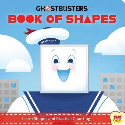 Ghostbusters: Book of Shapes - (Playpop) by  Jeff Harvey (Board Book)