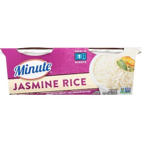 Minute® Microwaveable Jasmine Rice - 8 8oz 2ct