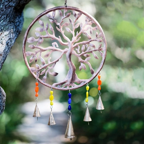 Tree Of Life Outdoor Garden Wind Chime - Vivaterra - image 1 of 1