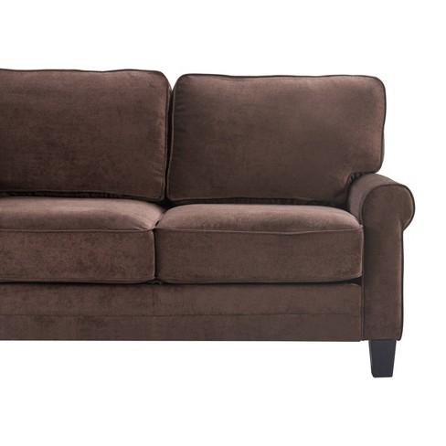Superb 61 Round Copenhagen Arm Fabric Loveseat With Storage Serta Inzonedesignstudio Interior Chair Design Inzonedesignstudiocom