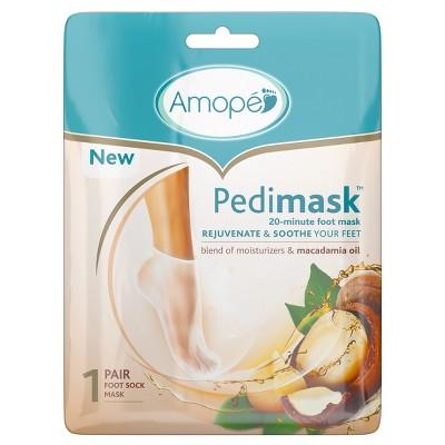 Amope Pedimask 20-Minute Foot Mask - Macadamia Oil