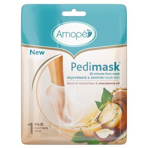 Amope Pedimask 20-Minute Foot Mask - Macadamia Oil - image 1 of 1