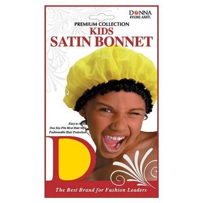 Donna Kids Satin Bonnet