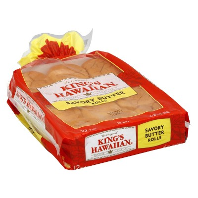 Packaged Bread: King's Hawaiian Savory Butter Rolls