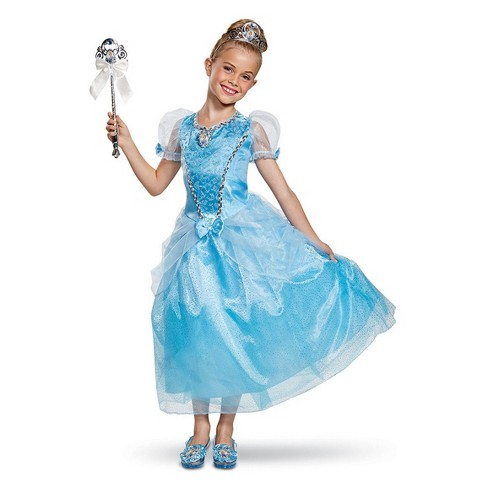 Girls' Disney Princess Cinderella Halloween Costume - image 1 of 1