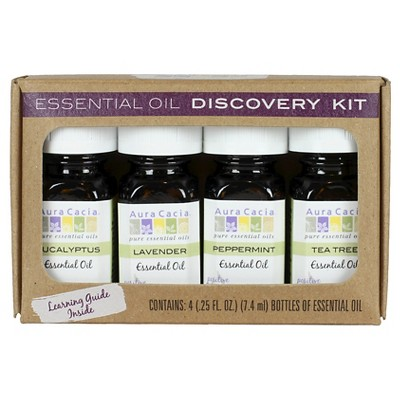 Aura Cacia Essential Oil Discovery Kit