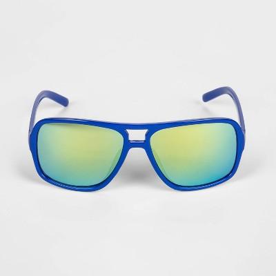 Toddler Boys' Aviator Sunglasses - Cat & Jack™ Blue 2T-3T