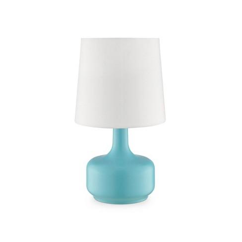 Cheru Powder Touch Table Lamp Blue  - Ore International - image 1 of 2
