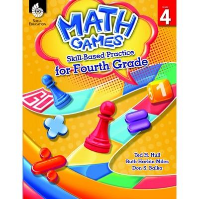 Shell Education Math Games: Skill-Based Practice, Grade 4