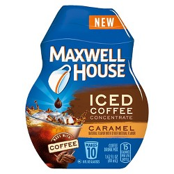Maxwell House® Iced Coffee Concentrate Caramel Beverage Mix Instant Coffee - 1.64oz