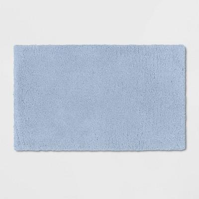 "21""x34"" Bath Rug Light Blue - Threshold Signature™"