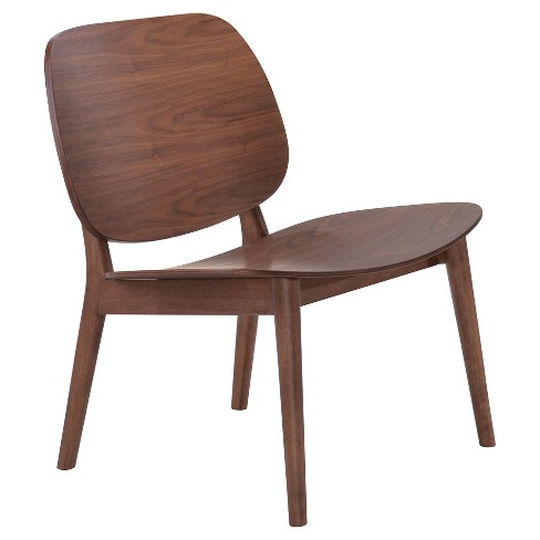 Mid-Century Solid Wood Modern Lounge Chair (Set of 2)- ZM Home - image 1 of 5