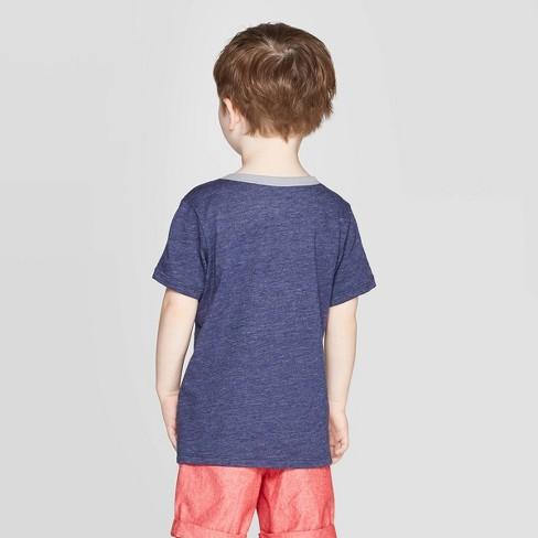 42f55da2 Toddler Boys' DC Comics Dark Knight Batman Short Sleeve T-Shirt - Navy