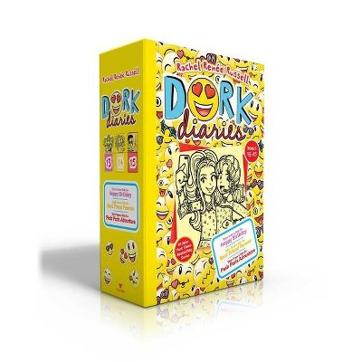 Dork Diaries Books 13-15 - by  Rachel Renée Russell (Hardcover)