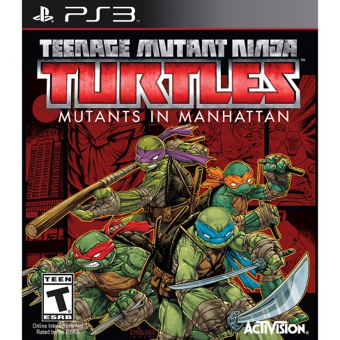 TMNT: Mutants in Manhattan PRE-OWNED - PlayStation 3 - image 1 of 1