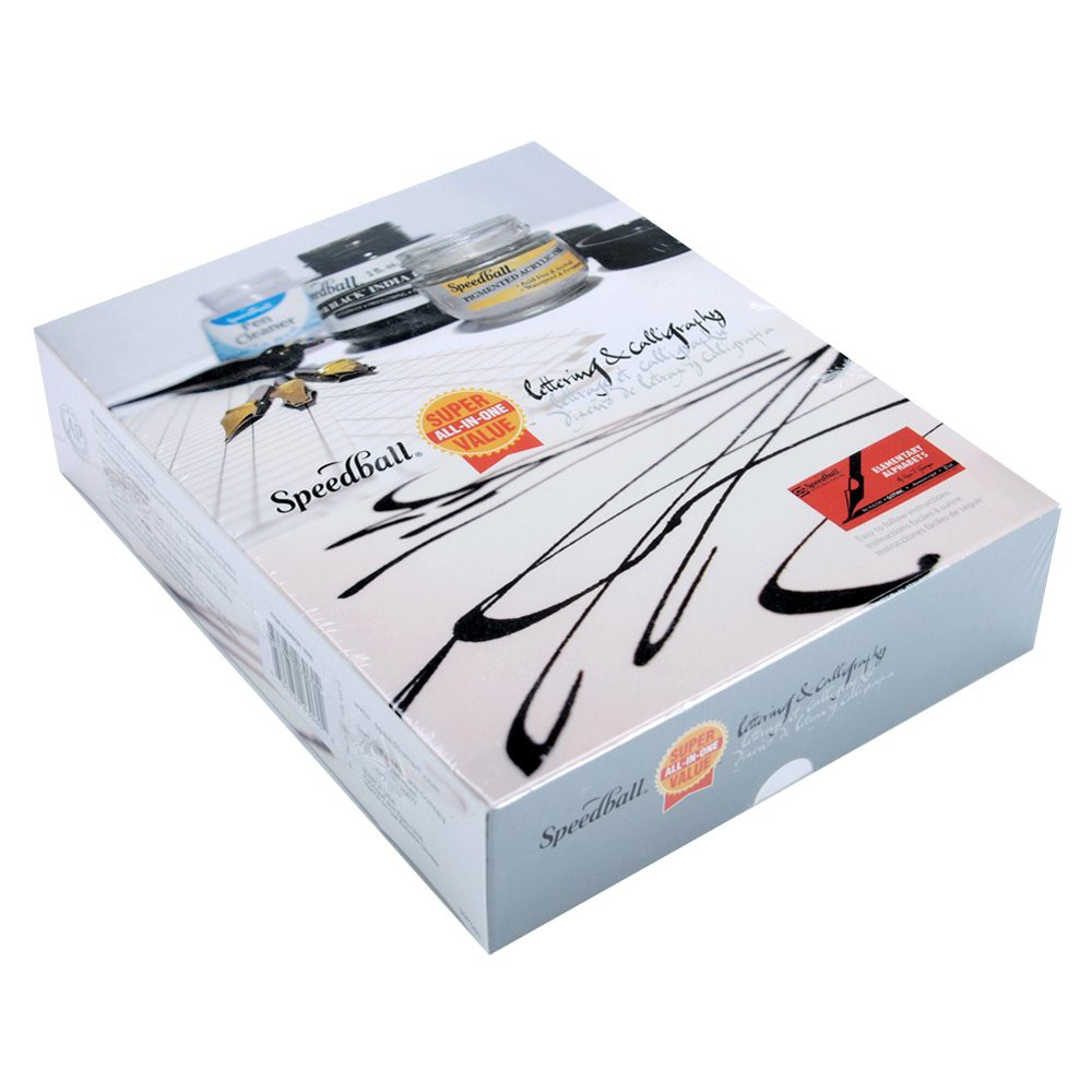 """Image of """"10pc Lettering and Calligraphy Kit - 8.63"""""""" X 6.68"""""""" X 1.94"""""""""""""""