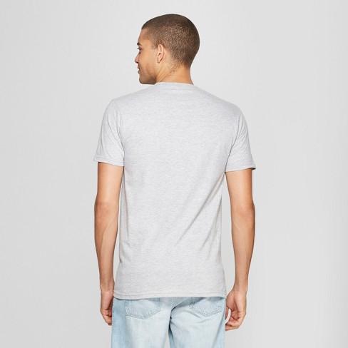 18756243 Men's Short Sleeve Gone Fishing Graphic T-Shirt - Awake Heather Gray :  Target