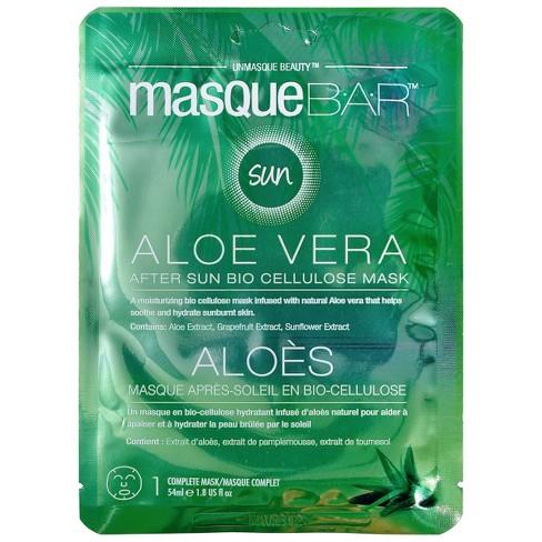 Masque Bar Aloe Vera After Sun Bio Cellulose Mask - 1.8 fl oz - image 1 of 4