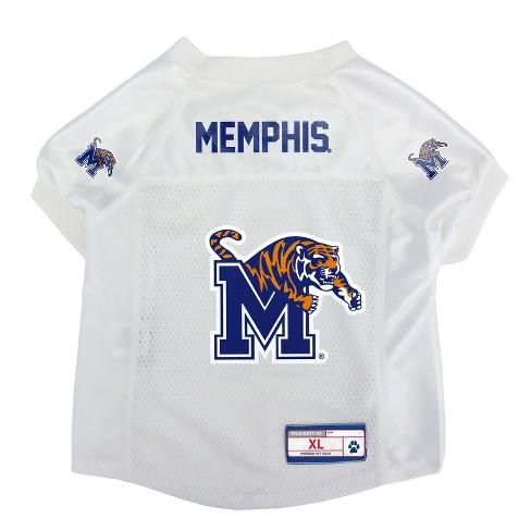 info for fd51c 8fe03 Memphis Tigers Little Earth Pet Football Jersey - XS