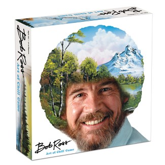 Bob Ross: The Art of Chill Board Game