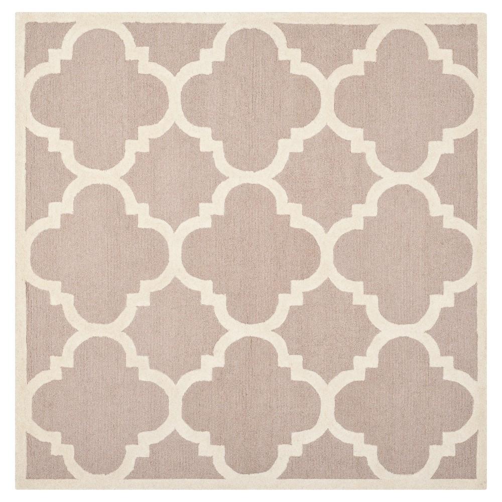 Landon Texture Wool Rug Beige/Ivory