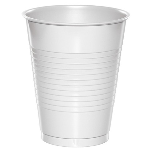 20ct White Disposable Cups Target