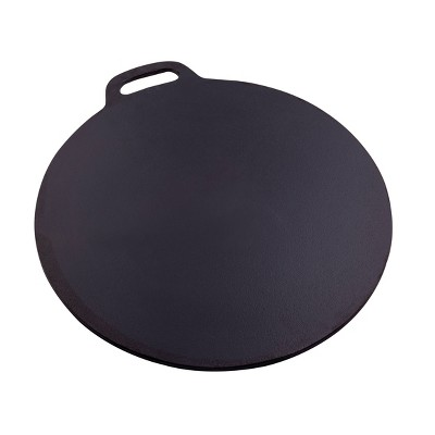 "Victoria Seasoned Cast Iron 15"" Tawa Budare Comal"
