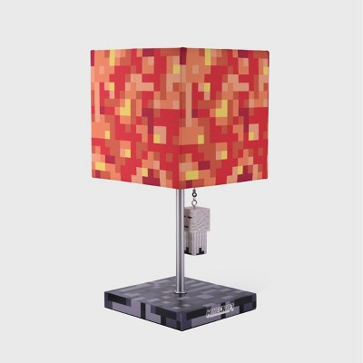 Minecraft Ghast and Lava Block Table Lamp