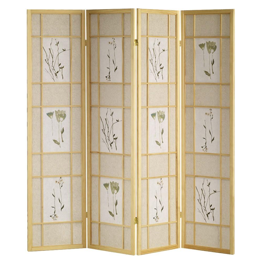 Image of 4 Panel Shoji Screen Natural - Ore International