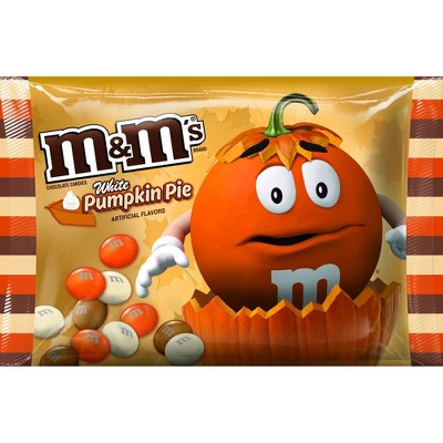 Chocolate Candies: M&M's White Chocolate Pumpkin Pie
