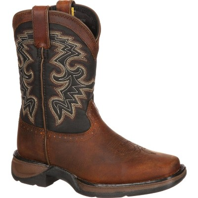 LIL' DURANGO Boys' Tan & Black Western Boot