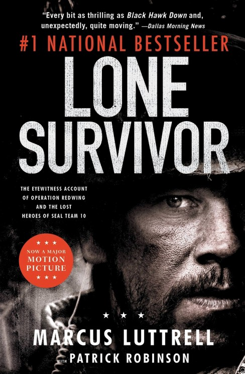 Lone Survivor (Media Tie-In) (Paperback) by Marcus Luttrell - image 1 of 1