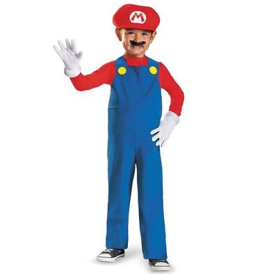 Toddler Nintendo Super Mario Halloween Costume Jumpsuit