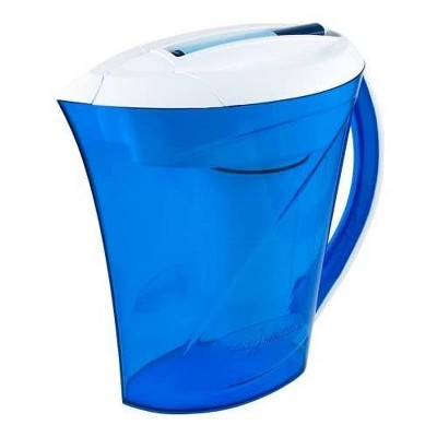 ZeroWater 10-Cup Ready-Pour Pitcher with Free TDS Light-Up Indicator (Total Dissolved Solids) ZD-010RPM