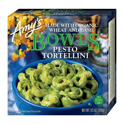 Amy's Pesto Frozen Tortellini Bowls - 9.5oz