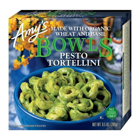 Amy's Frozen Pesto Frozen Tortellini Bowls - 9.5oz - image 1 of 4