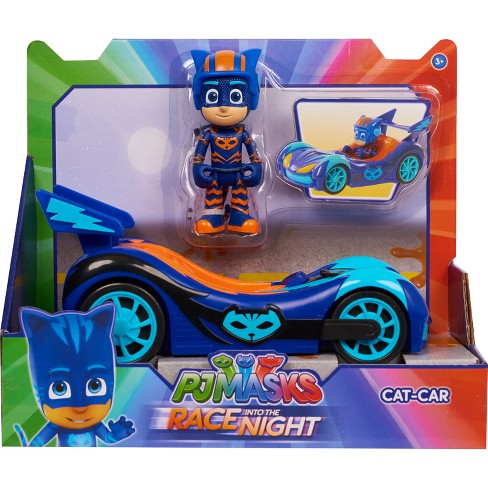 PJ Masks Race Into the Night Vehicles Set - Catboy - image 1 of 3