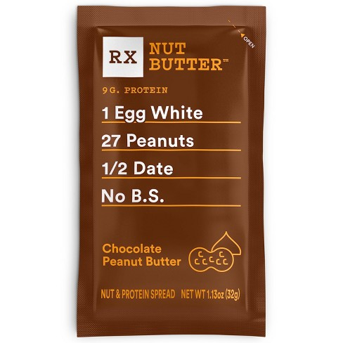 RX Nut Butter Chocolate Peanut Butter - 1.13oz - image 1 of 4