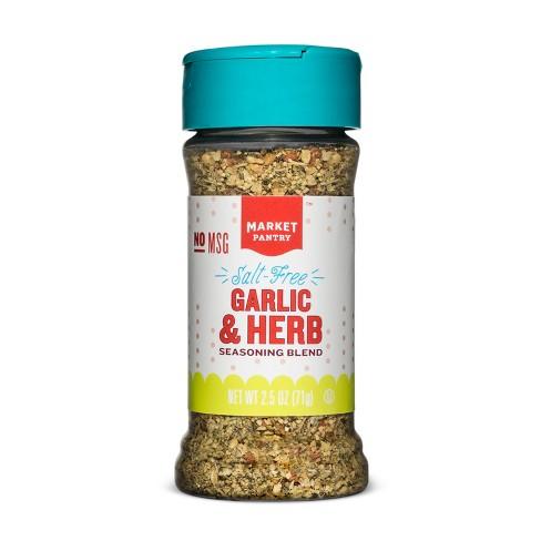 Salt Free Garlic & Herb Seasoning Blend - 2.5oz - Market Pantry™ - image 1 of 1