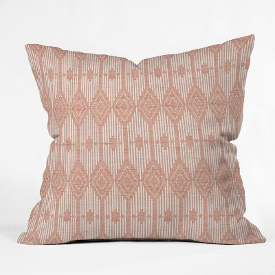 Heather Dutton West End Oversize Square Throw Pillow Pink - Deny Designs