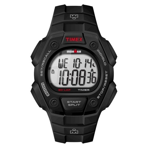 Men's Timex Ironman Classic 30 Lap Digital Watch - Black T5K822JT - image 1 of 1