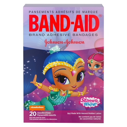 Band-Aid Bandages Nickelodeon Shimmer & Shine, Assorted Sizes- 20ct - image 1 of 8