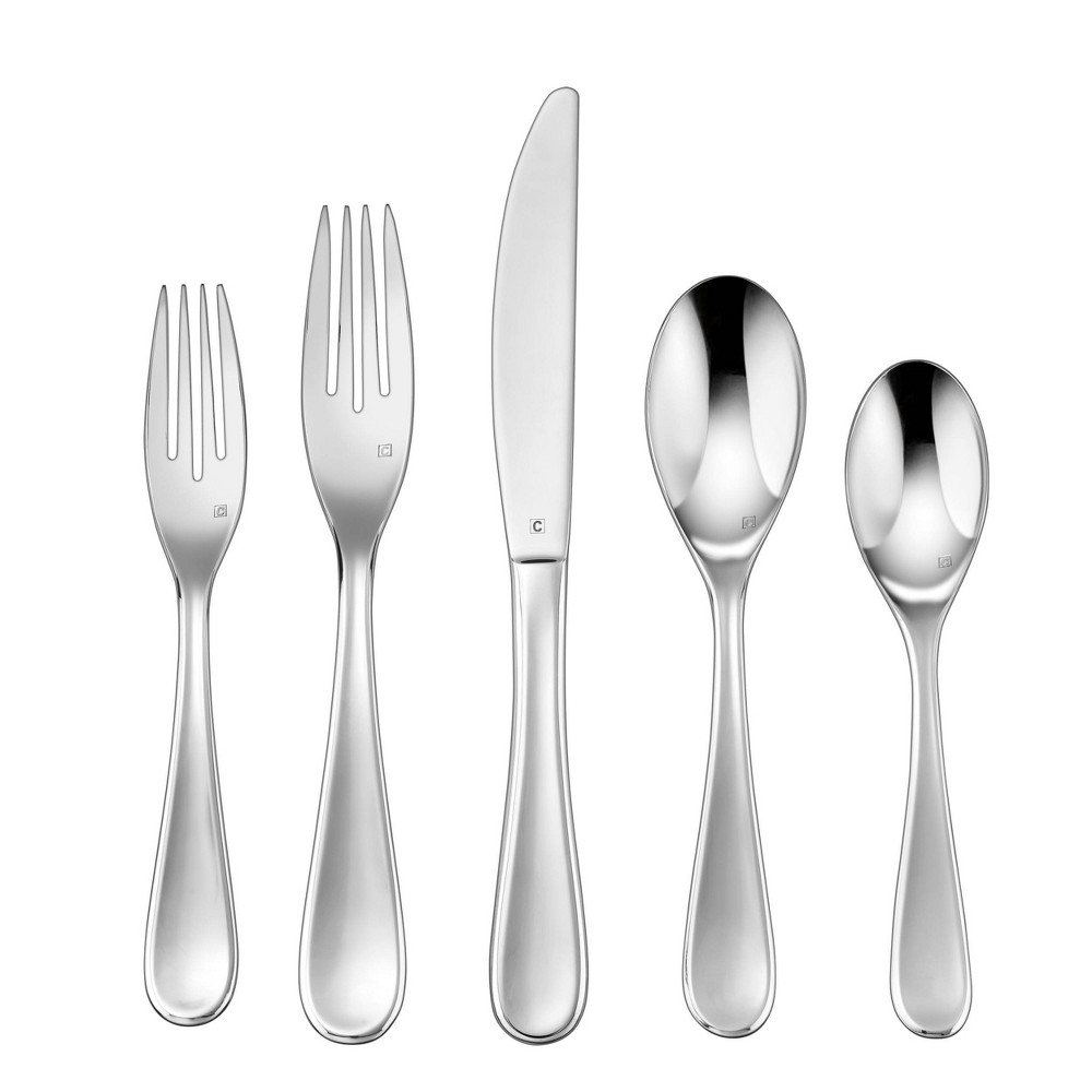 Cuisinart 20pc Stainless Steel Maree Silverware Set