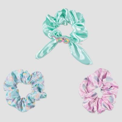 Girls' Barbie 3pc Scrunchie Set - Green