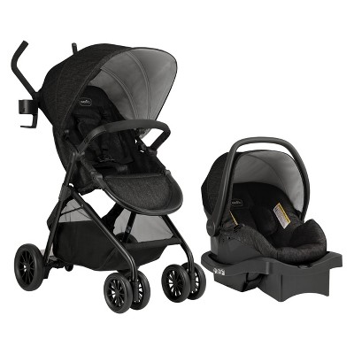 Evenflo Sibby Travel System - Charcoal