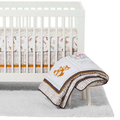Trend Lab Crib Bedding Set - Gnome Boy - 4pc - image 1 of 4