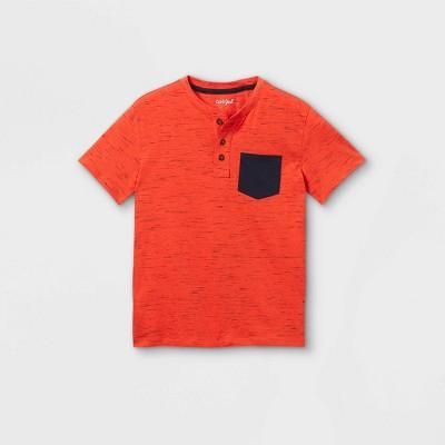 Boys' Short Sleeve Henley Shirt - Cat & Jack™