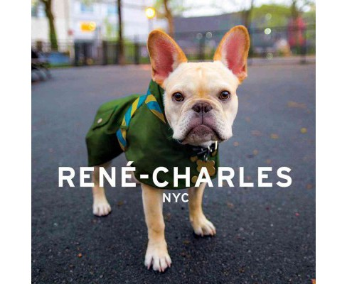 Rene-charles NYC : Little Bulldog in the Big City (Hardcover) (Evan Cuttic) - image 1 of 1