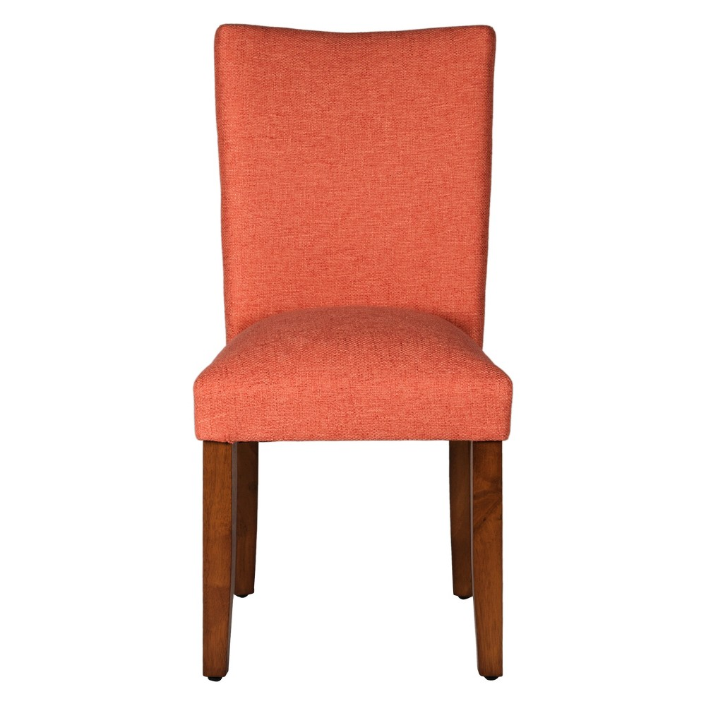 Set of 2 Parson Dining Chair Wood Mango - HomePop was $209.99 now $157.49 (25.0% off)