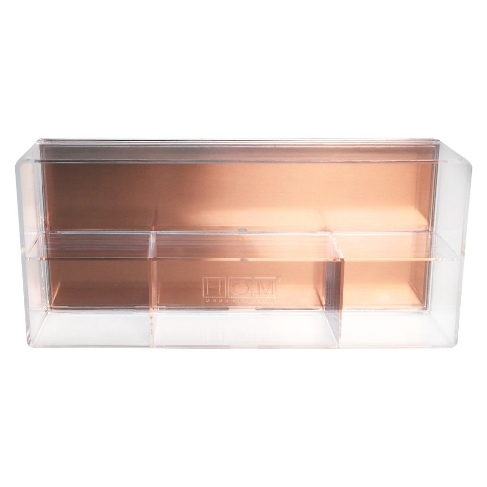 Drawer Organizer - Clear with Copper Base - Threshold